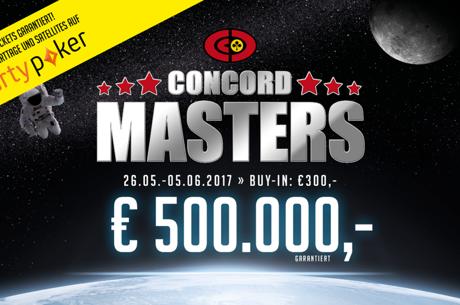 Concord Masters: Doppelt qualifizieren und € 2.000 kassieren