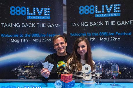 Catalin Pop triunfa en el High Roller del 888live Barcelona 2017; Sergi Escoté fue tercero