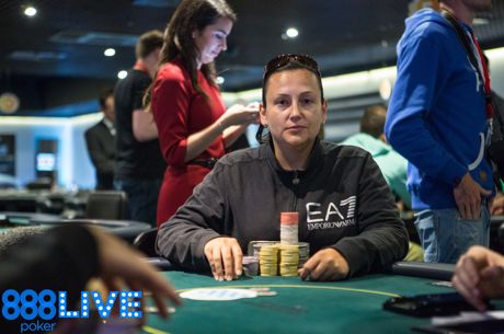 Lucía Martínez se pone por delante tras el Día 1a del 1.100€ Main Event del 888live...