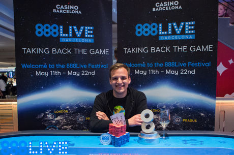 Catalin Pop Wins 888Live Barcelona €2,200 High Roller