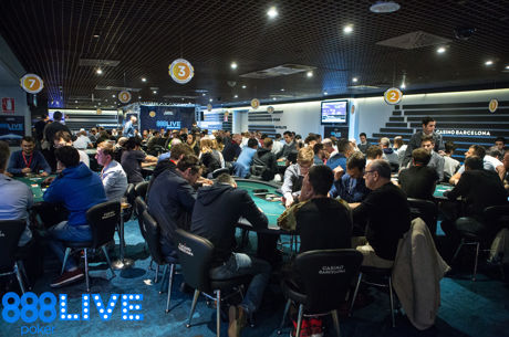 Samuel Hernandez Leads Day 1b of the 888Live Barcelona Main Event