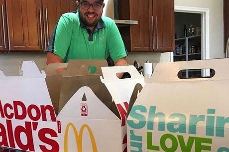 Caritatif : Mike Noori échoue à manger 1000$ de McDonalds en 36 heures... mais récolte...
