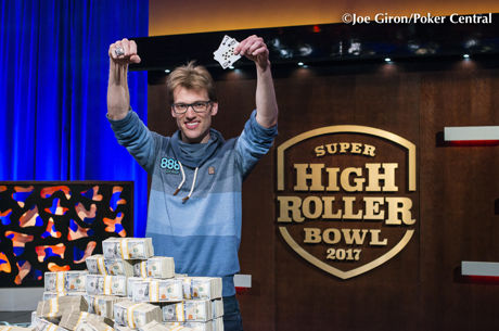 Super High Roller Bowl : Chris Vogelsang empoche 6 millions de dollars