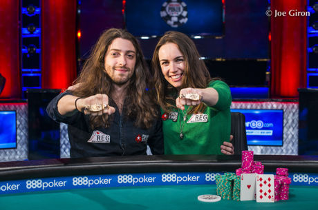 Igor Kurganov and Liv Boeree