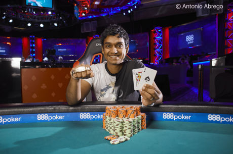 Upeshka De Silva Wins WSOP Event #3: $3,000 No-Limit Hold'em Shootout