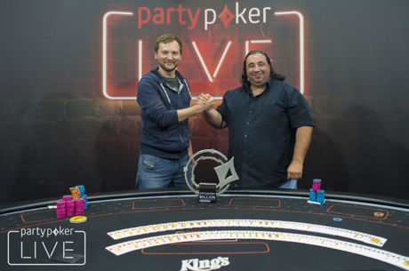 Michel Mrakeš wint partypoker LIVE MILLION Germany €1.100 Main Event, Sandro Pitzanti tweede
