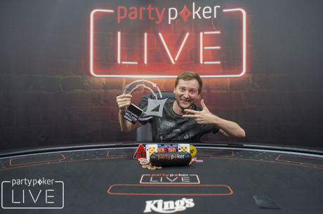 Michal Mrakeš holt die partypoker LIVE MILLION Germany