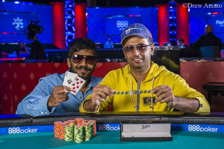 2017 World Series of Poker: Aditya Sushant & Nipun Java holen Event 10