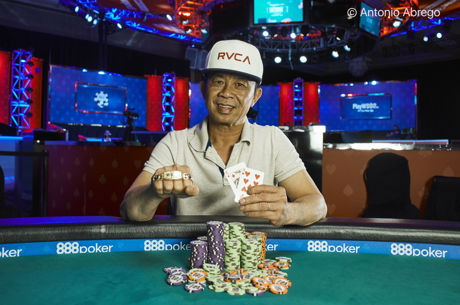2017 World Series of Poker: David Pham holt Event 12