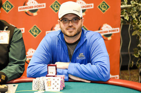 Chase Johnston Wins a Casino Regina Ring at Diamond Poker Classic