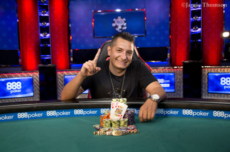 Anthony Marquez Wins WSOP Event #16: $1,500 No-Limit Hold'Em 6-Handed
