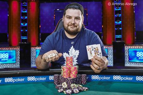 Pablo Mariz Wins WSOP Event #20: $1,500 MILLIONAIRE MAKER