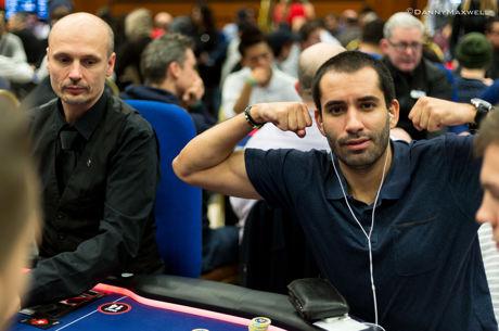 João Vieira no Dia 2 do Evento #27: $3,000 No-Limit Hold'em 6-Handed