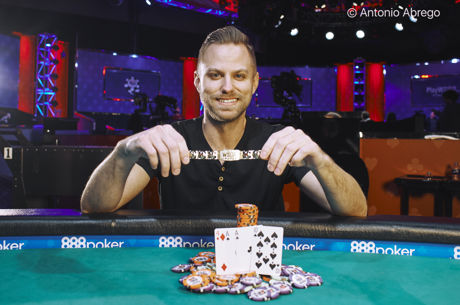 Tyler Groth Conquista Bracelete no Evento #25: $1,000 Pot-Limit Omaha