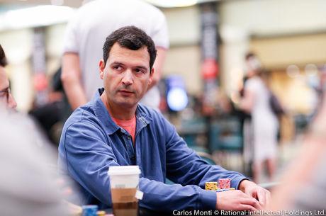 Pedro Cabeça Segue para o Dia 2 do Evento #29: $2,500 No-Limit Hold'em