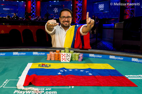 Joseph Di Rosa Rojas Wins WSOP Event #23: THE MARATHON
