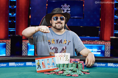 2017 World Series of Poker: David Bach holt Bracelet Nr. 3