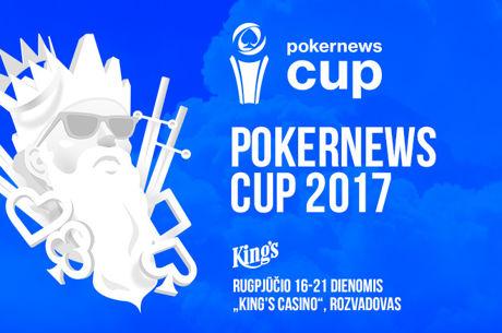 "Artėja ""PokerNews Cup 2017"" gyvo pokerio festivalis"