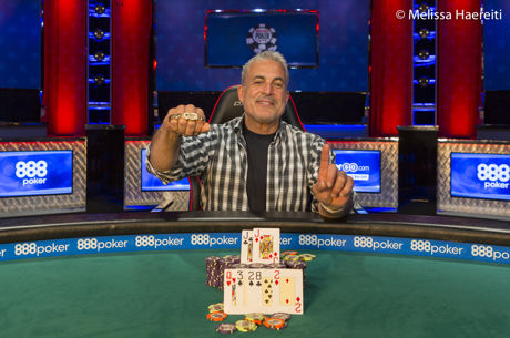 2017 World Series of Poker: Frank Maggio gewinnt Seniors Event