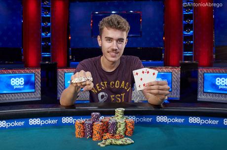 Evento #33: $1,500 No-Limit Hold'em com Vitória de Christopher Frank