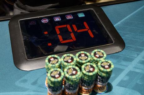 "888poker va folosi ""Shot Clock"" in evenimentele 888Live Festivals"