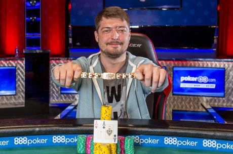 Dmitry Yurasov Conquista Evento #42: $10,000 No-Limit Hold'em 6-Handed Championship