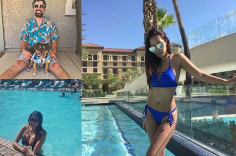 Réseaux sociaux : Bikinis & Drinks... Il fait (très) chaud à Las Vegas !