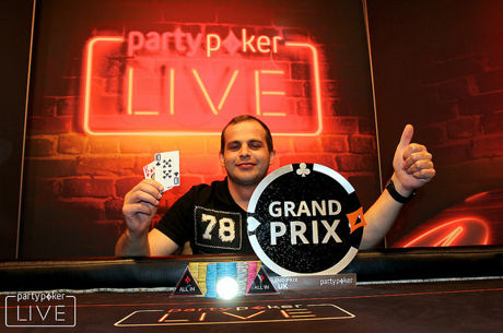Робертас Гордонас выиграл partypoker LIVE Grand Prix UK и £150,000