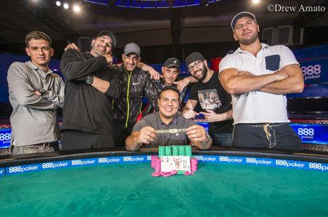 2017 World Series of Poker: Luis Calvo holt Event 49, Schleicher Sechster