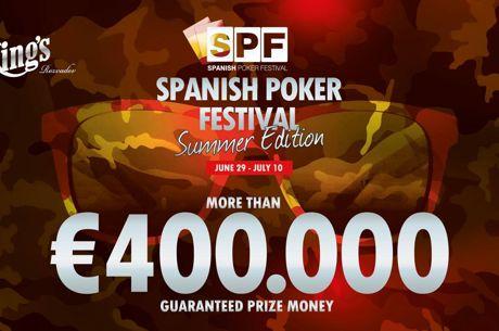El Spanish Poker Festival vuelve a Rozvadov con mucha más fuerza