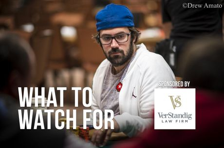 WSOP Day 30: Jason Mercier Making Deep Run in $1,500 No-Limit Hold'em