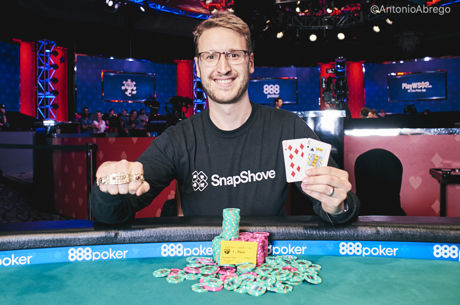 Max Silver Wins First WSOP Bracelet in $3,000 Limit Hold'em 6-Handed