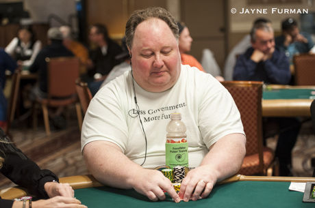 Fossilman Staying Calm in the $888 Crazy Eights