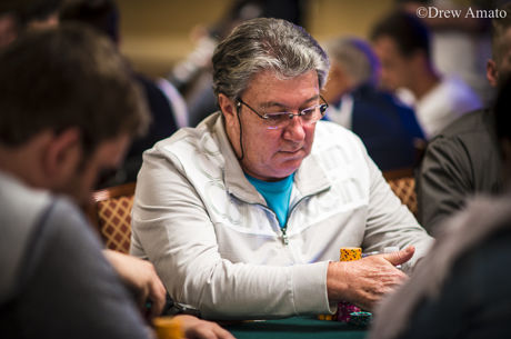 Fernando Brito no Dia Final do Evento #64: $1,500 No-Limit Hold'em/Pot-Limit Omaha 8-Handed Mix