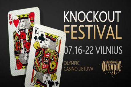 """KnockOut"" Festivalis Vilniuje liepos 16-22 dienomis"