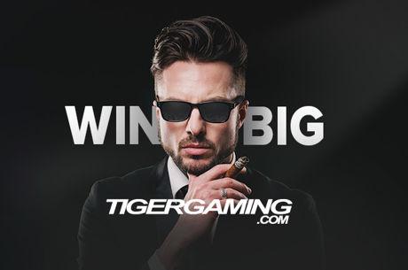 TigerGaming Poker Bad Beat Jackpot Approaching $400K