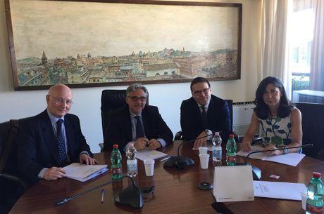 El acuerdo por la liquidez compartida quedó firmado ayer en Roma