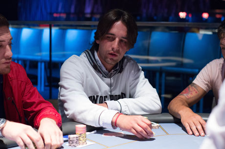 Bruno Santos Lopes na Frente do Dia 1 da Etapa #2 do ECT Poker Tour
