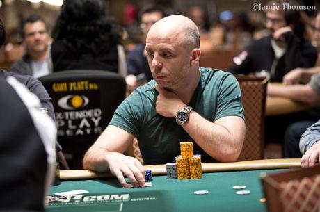 Grzegorz Wyraz w dniu finałowym Eventu 69 WSOP: 1,500$ Razz!