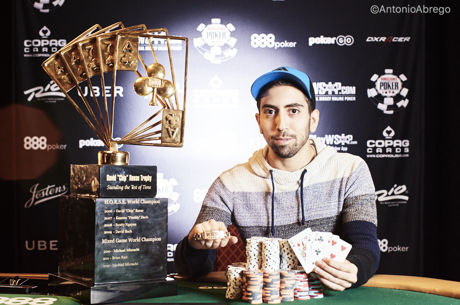 """50,000 dolerių įpirkos """"Poker Players Championship"""" laimėjo britas Elioras Sion"""
