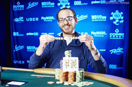 2017 World Series of Poker: Harrison Gimbel holt Event 68