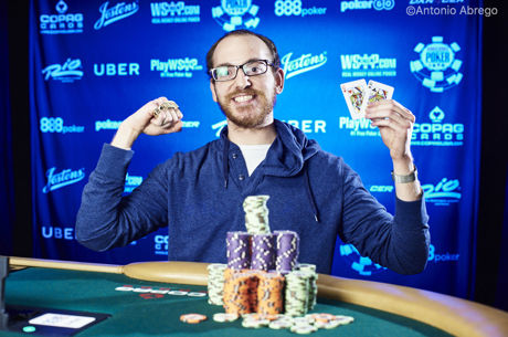 Harrison Gimbel Conquista Triple Crown no Evento #68 das WSOP