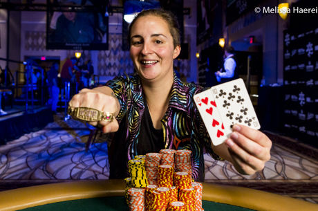 2017 World Series of Poker: Heidi May gewinnt Event 70