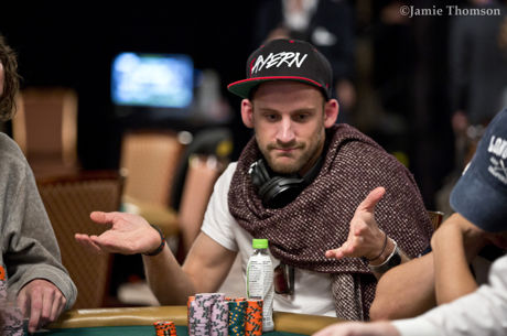 2017 World Series of Poker Main Event: Robin Hegele als Chipleader