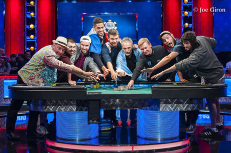 Die 2017 World Series of Poker Main Event Finalisten stehen fest