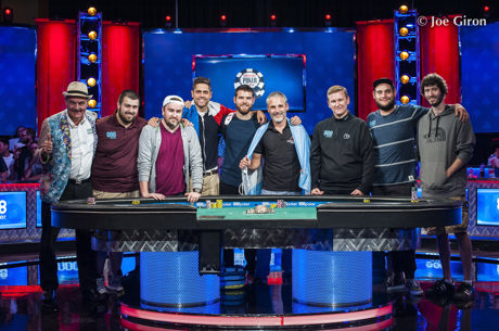 Scott Blumstein Guida il WSOP Main Event Final Table; Bis Per Saout e Lamb