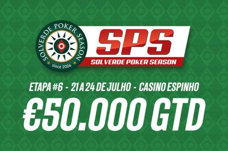 Termina Hoje! PokerNews Oferece 1 Entrada na Etapa #6 da Solverde Poker Season