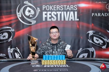 Boyuan Qu Wins PokerStars Festival Korea ₩4,350,000 High Roller