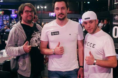 """Lille : Jérôme """"Angelus"""" Arnould chipleader d'un PokerStars Festival record"""