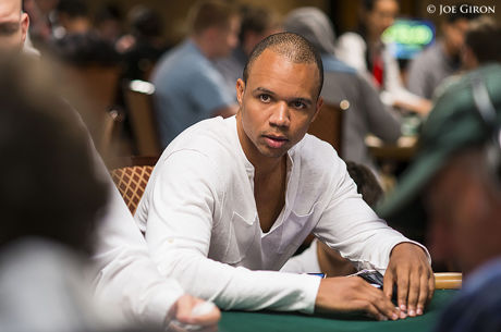 Phil Ivey und David 'Devilfish' Ulliott in der Poker Hall of Fame